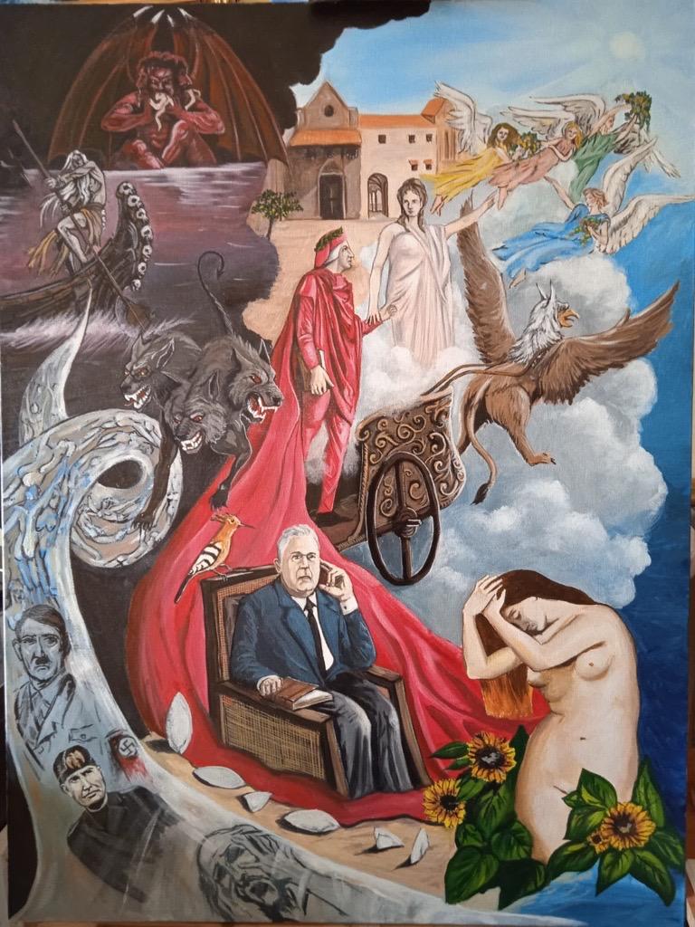 """Dante e Montale """"sognano"""" il  Novecento"""