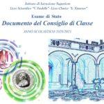 Esame di Stato 2020/2021 – Documento del Consiglio di Classe