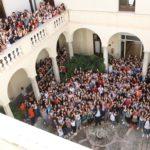 La Dirigente dell'UST di Trapani, dott.ssa Tiziana Catenazzo, visita il Liceo Fardella – Ximenes